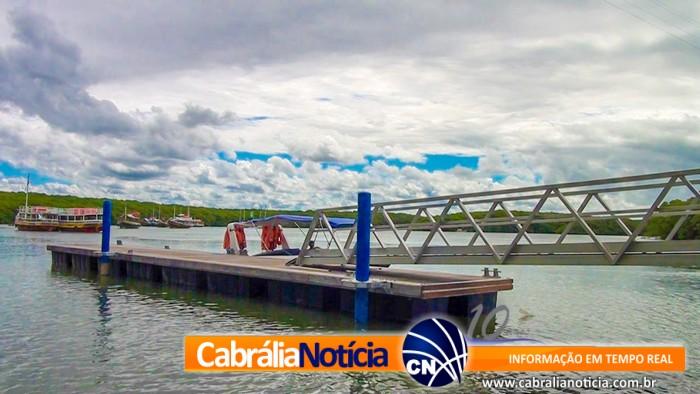Prefeitura de Santa Cruz Cabrália entrega a comunidade novo Pier totalmente revitalizado