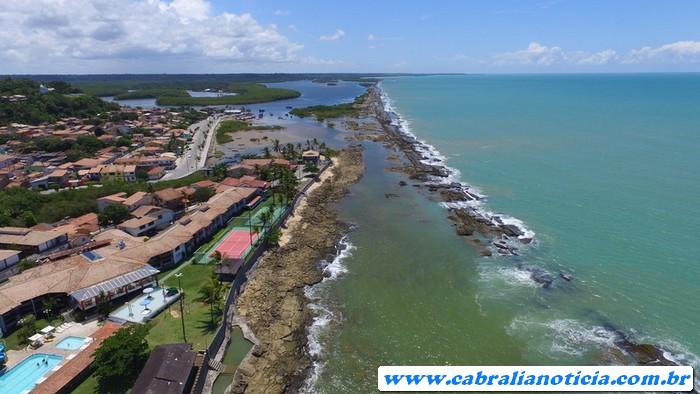Prefeitura de Cabrália começa obras preparando a cidade para o verão 2018