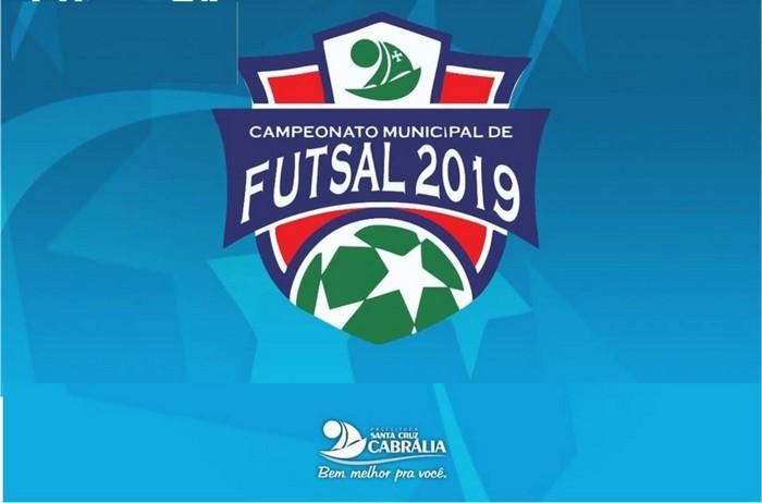 Começa terça-feira 12/03 o Campeonato Municipal de Futsal de Cabrália