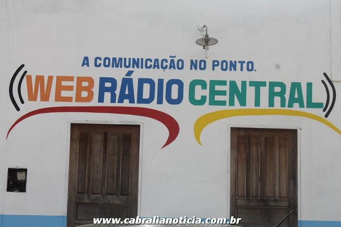 Inauguração da Web Rádio Central em Ponto Central
