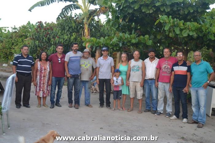 Prefeito de Cabrália visita zona rural e ouve demanda das comunidades.
