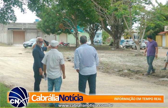 Prefeito visita obras no bairro Mirante e confirma inauguração para dia 9 de junho