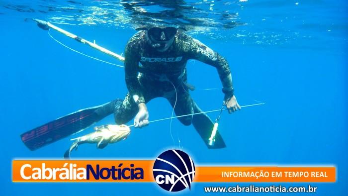 Cabrália sedia etapa do Campeonato Baiano de Pesca Submarina