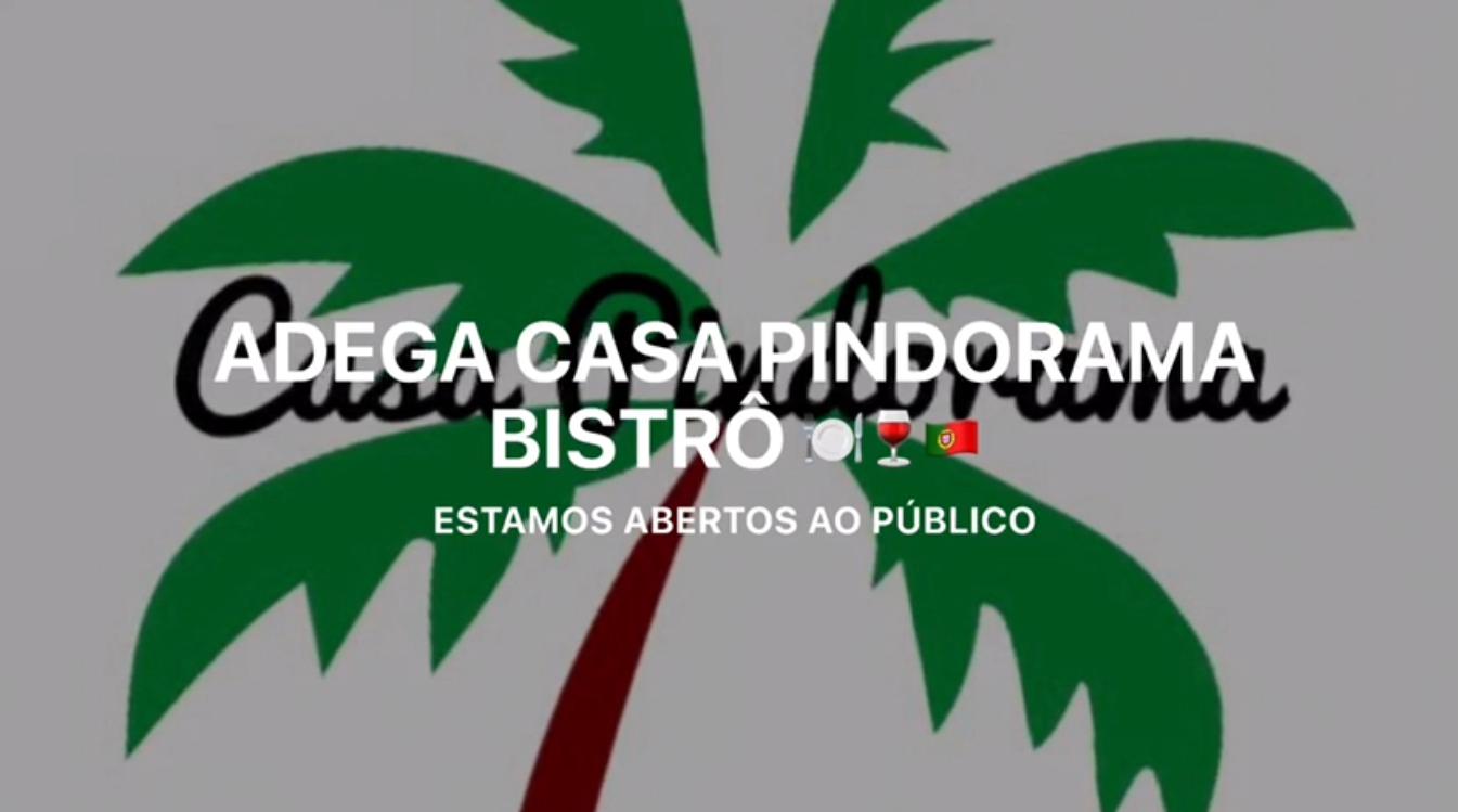 Em Cabrália visite o Restaurante Adega Casa Pindorama