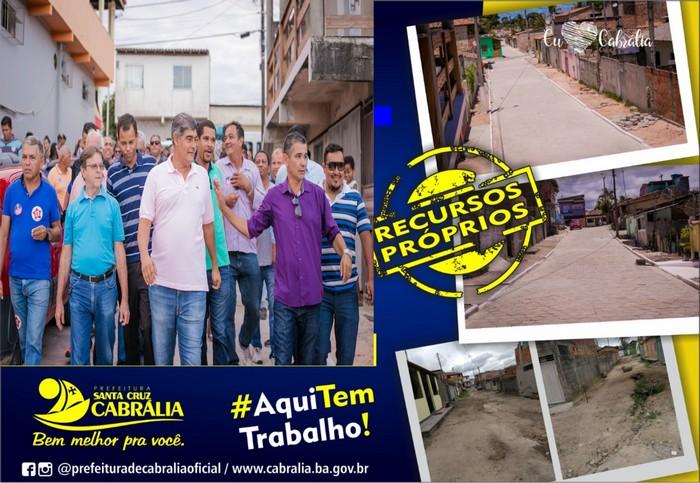 Pavimentação da Rua Travessa Rondônia é oficialmente inaugurada.