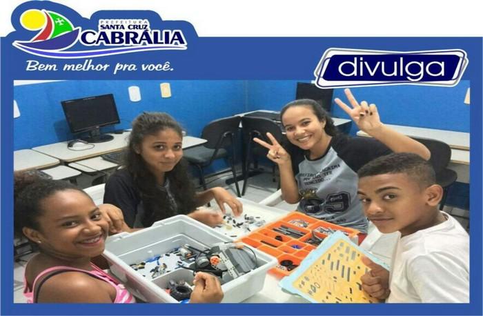 Mais qualidade na educação em Cabrália
