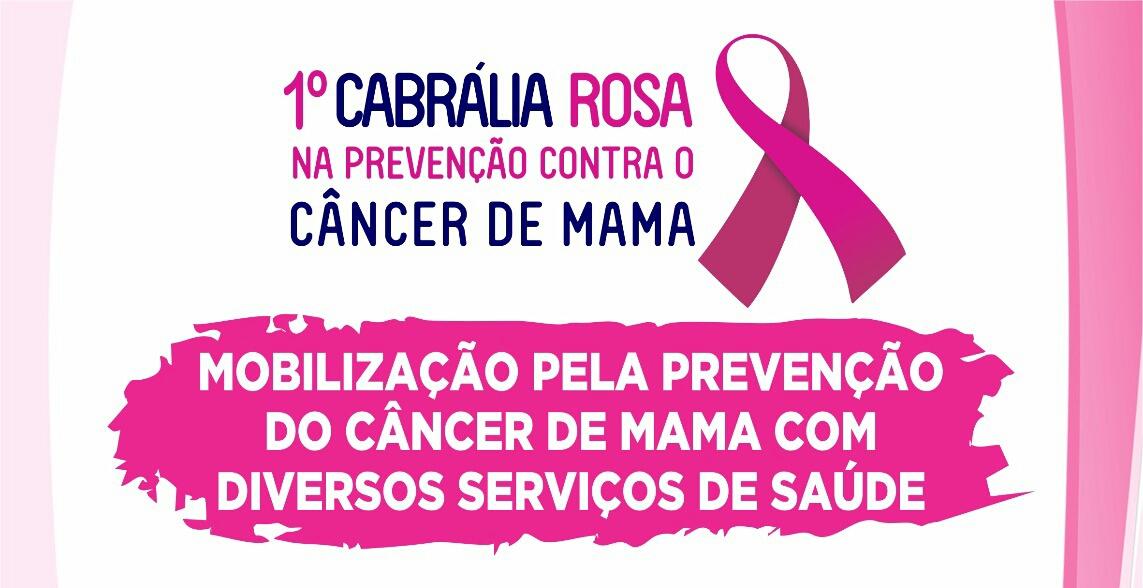 Mobilização PELA prevenção do câncer de Mama.