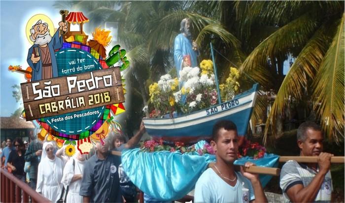 São Pedro terá dois dias de festa em Santa Cruz de Cabrália