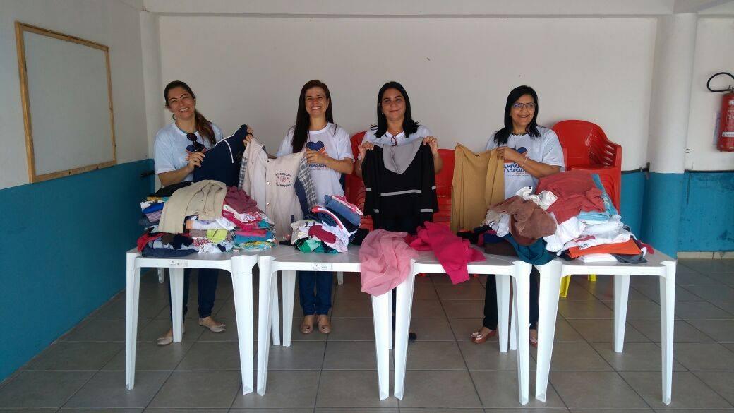 Campanha do Agasalho faz primeiras entregas de doações a crianças e idosos