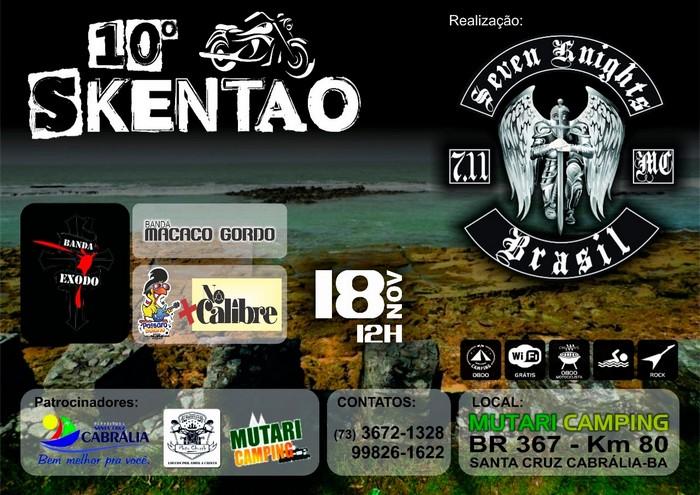 10° Skentão: Cabrália se prepara para encontro de motociclista
