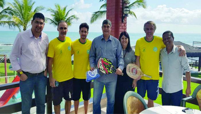 Pan-Americano de Beach Tennis começa nesta quinta-feira em Santa Cruz Cabrália, na Bahia, com 190 atletas de sete países
