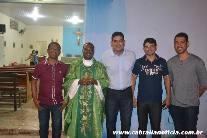 Câmara de Vereadores participa do Tríduo a Santo Antônio