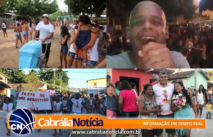 Povoado de Santo Antônio em Cabrália festeja São Sebastião com fé, alegria e sucesso.